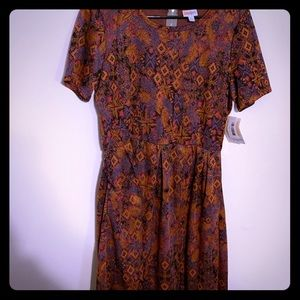 Lularoe Amelia Dress size 2XL